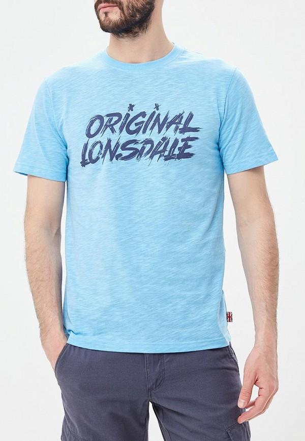цена Футболка Lonsdale Lonsdale LO789EMETDA5 онлайн в 2017 году