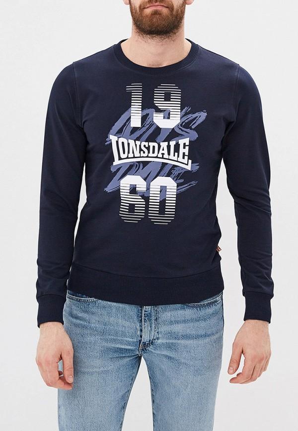 мужской свитшот lonsdale, синий