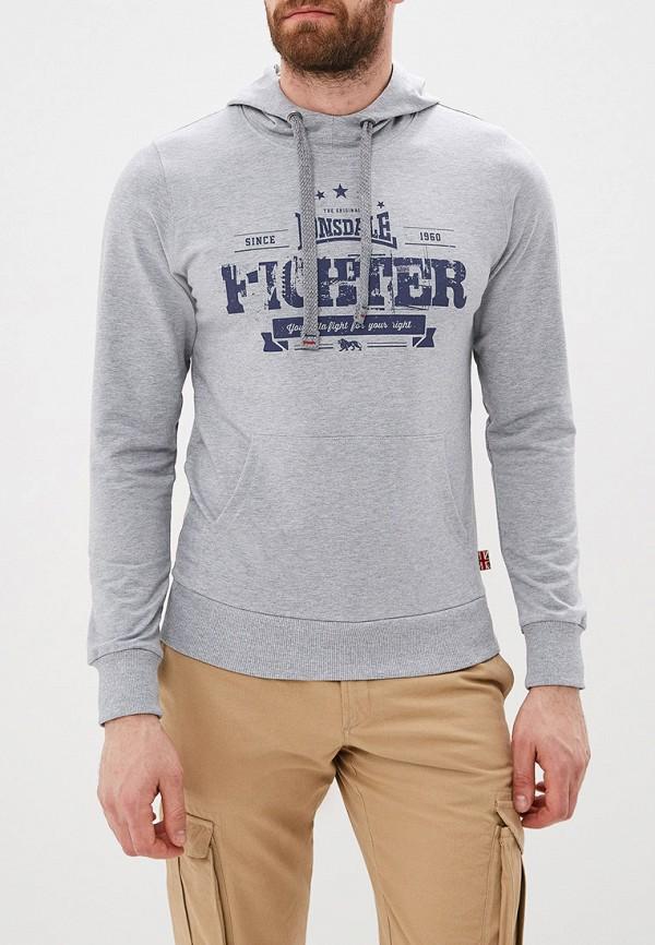 4409718a Мужские свитера и толстовки Lonsdale, серые - купить от 1640 руб в ...