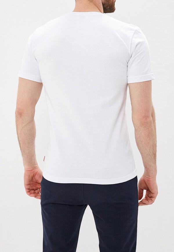 Фото 3 - мужскую футболку Lonsdale белого цвета