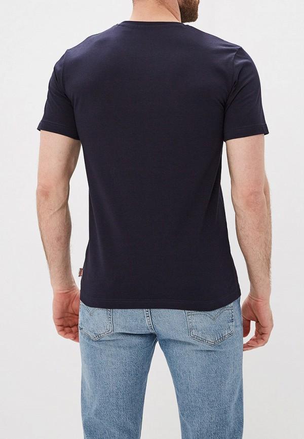 Фото 3 - мужскую футболку Lonsdale синего цвета