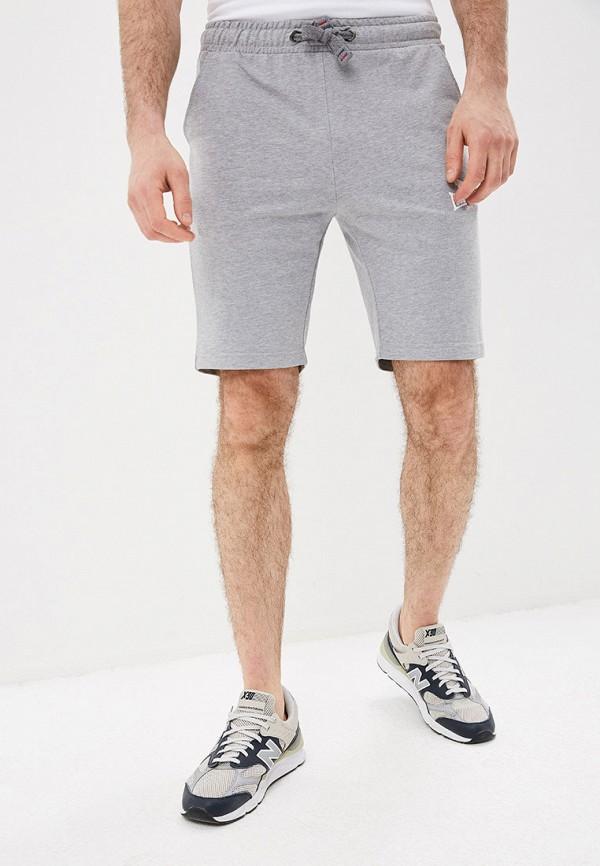 мужские спортивные спортивные шорты lonsdale, серые