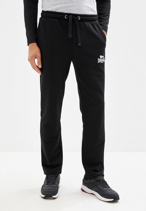 мужские спортивные спортивные брюки lonsdale, черные