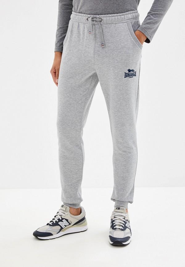 мужские спортивные спортивные брюки lonsdale, серые