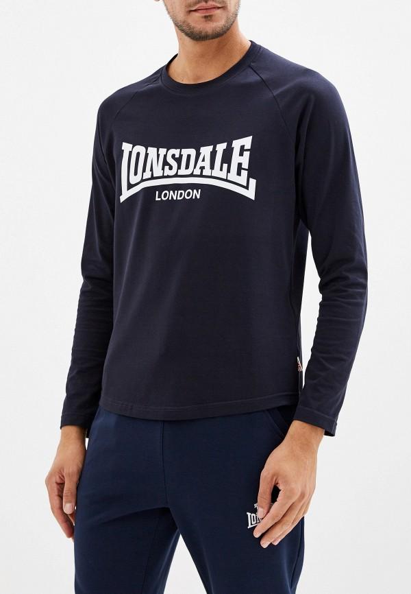 Лонгслив спортивный Lonsdale Lonsdale LO789EMFXWV3 поло lonsdale lonsdale lo789embiqu4