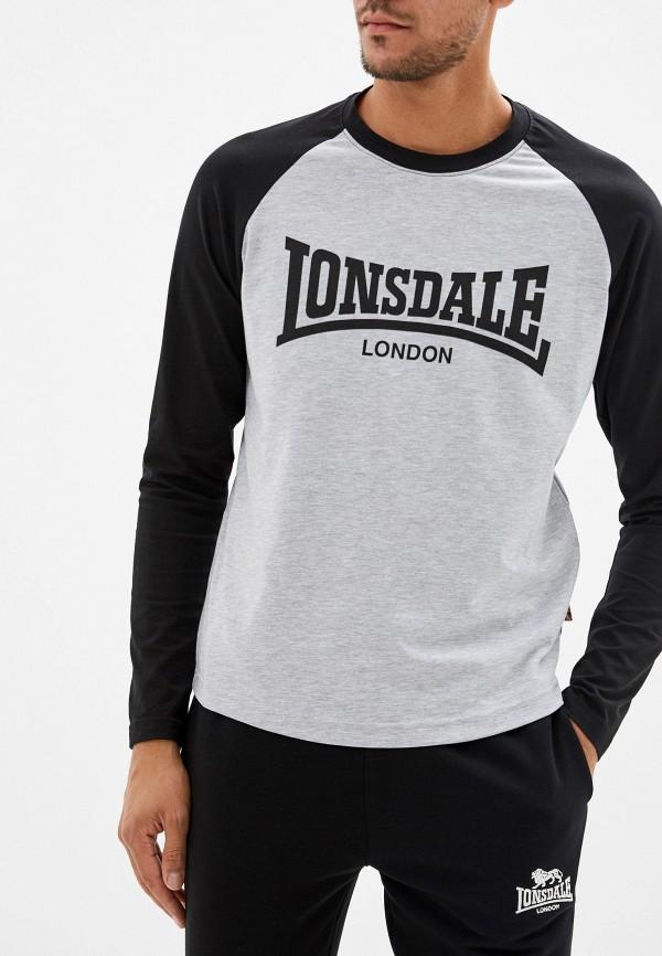Лонгслив спортивный Lonsdale Lonsdale LO789EMFXWV7 цена