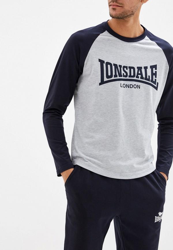 цена Лонгслив спортивный Lonsdale Lonsdale LO789EMFXWV8 онлайн в 2017 году
