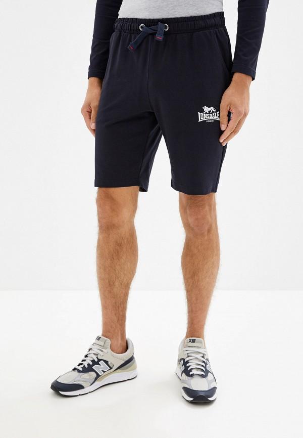 мужские спортивные спортивные шорты lonsdale, синие