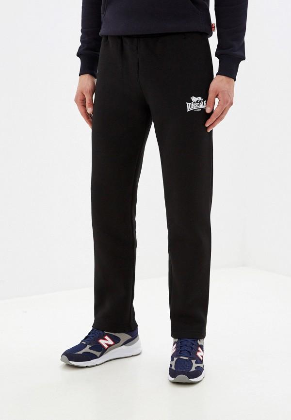 мужские спортивные брюки lonsdale, черные