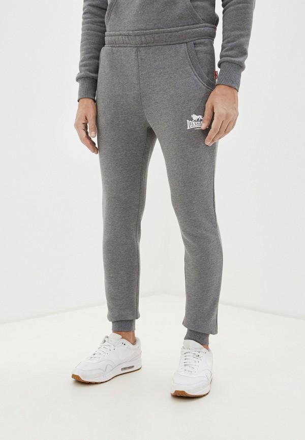 мужские спортивные брюки lonsdale, серые