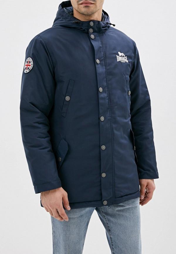 мужская куртка lonsdale, синяя