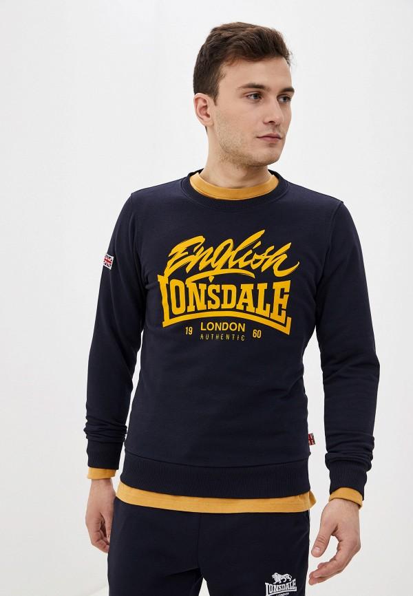 мужской свитшот lonsdale, черный