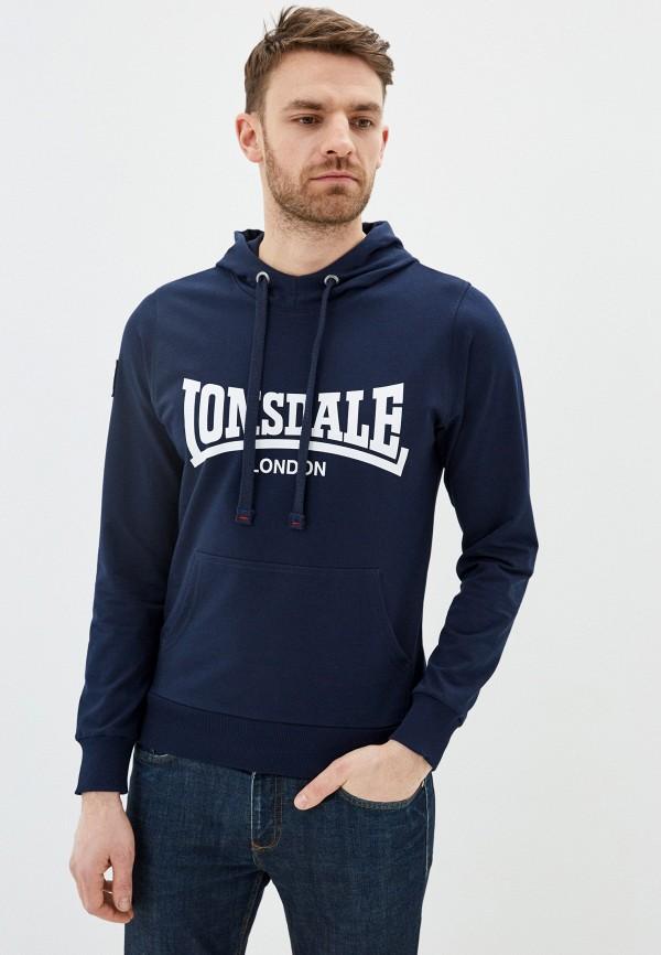 мужские худи lonsdale, синие