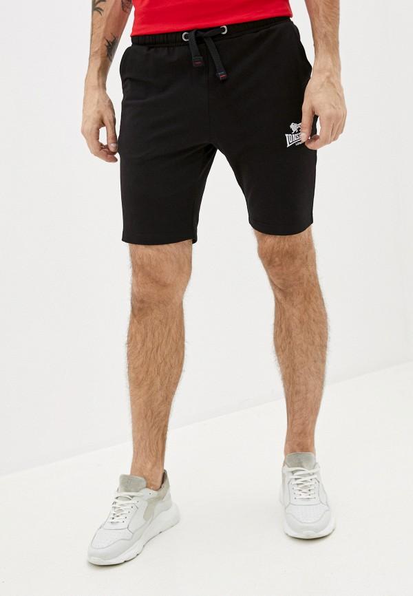 мужские спортивные шорты lonsdale, черные