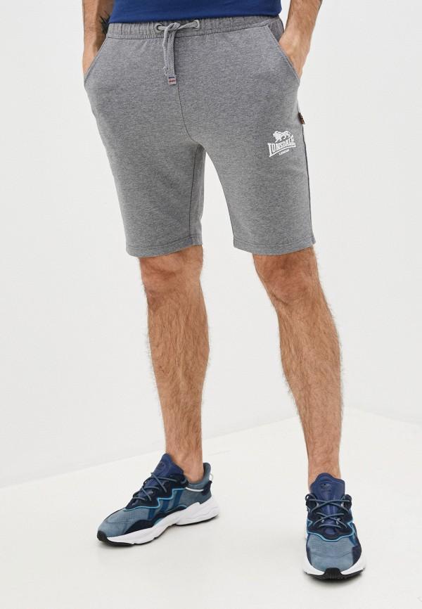 мужские спортивные шорты lonsdale, серые