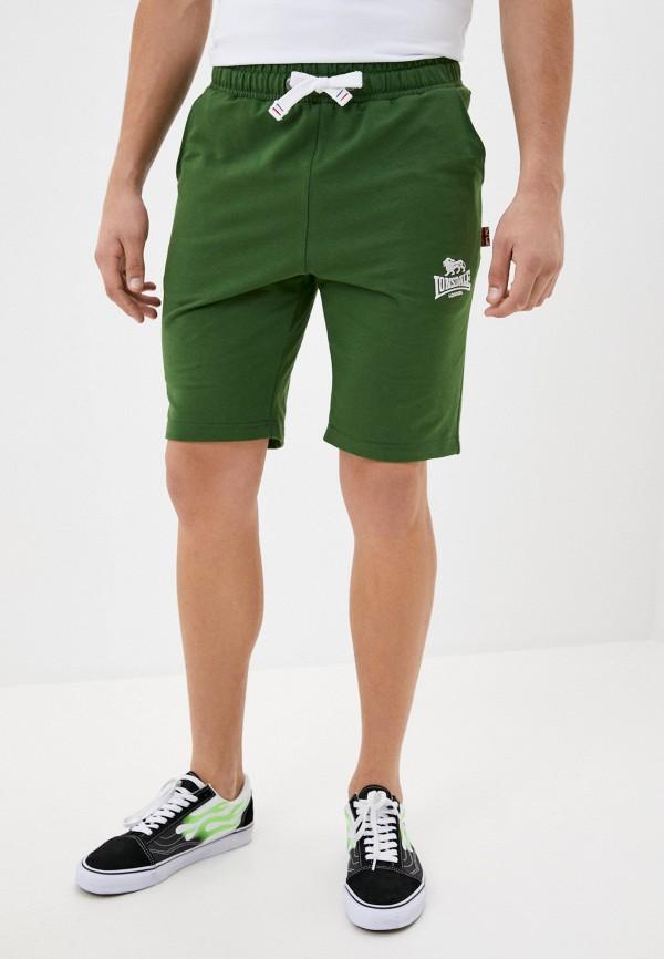 мужские спортивные шорты lonsdale, зеленые