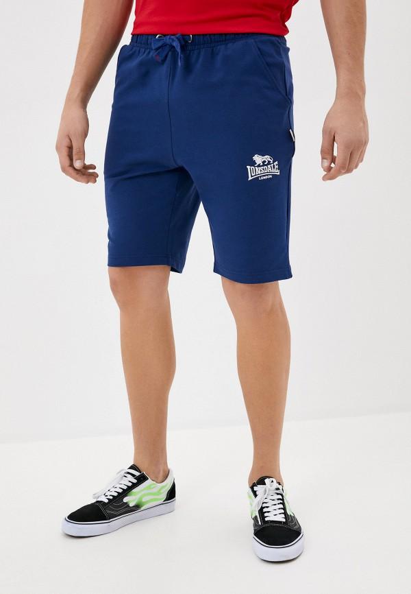 мужские спортивные шорты lonsdale, синие
