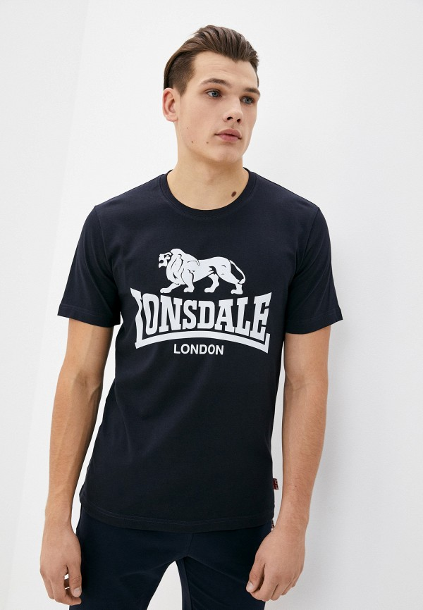 мужская спортивные футболка lonsdale, синяя