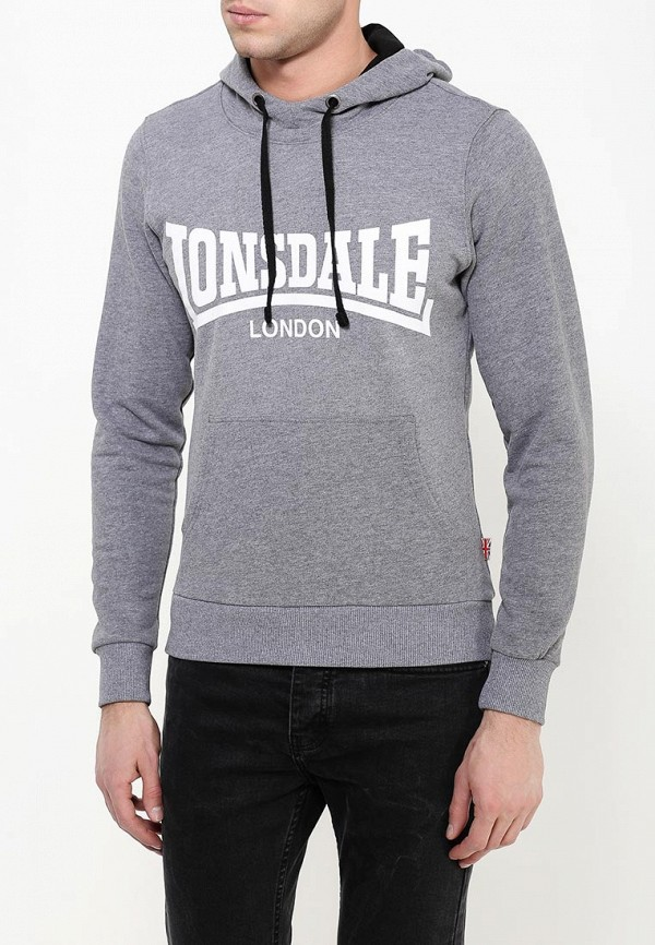 Худи Lonsdale Lonsdale LO789EMPFT57 худи print bar skull