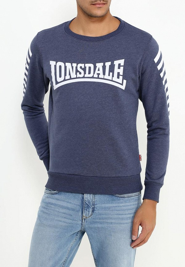 Свитшот Lonsdale Lonsdale LO789EMSBT43 толстовка lonsdale lonsdale lo789emsbt59