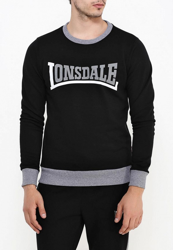 Свитшот Lonsdale Lonsdale LO789EMSBT44 кеды lonsdale lonsdale lo789amsbt85
