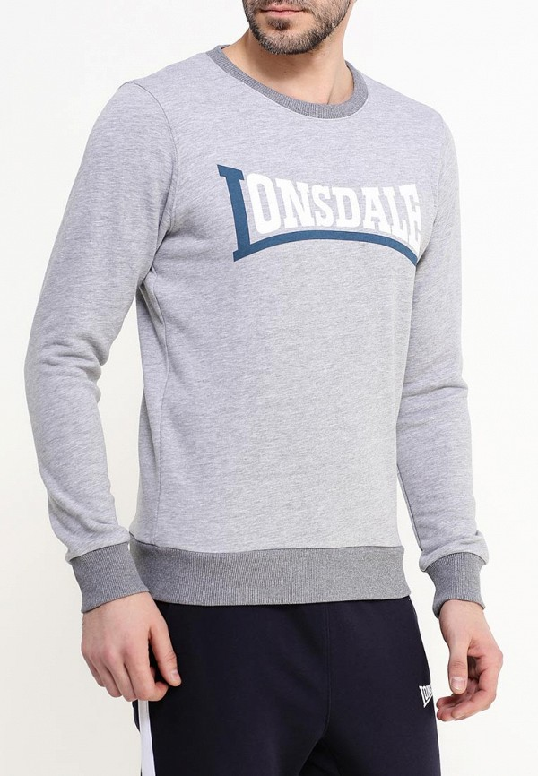 Свитшот Lonsdale Lonsdale LO789EMSBT45 бейсболка lonsdale lonsdale lo789cuebh91