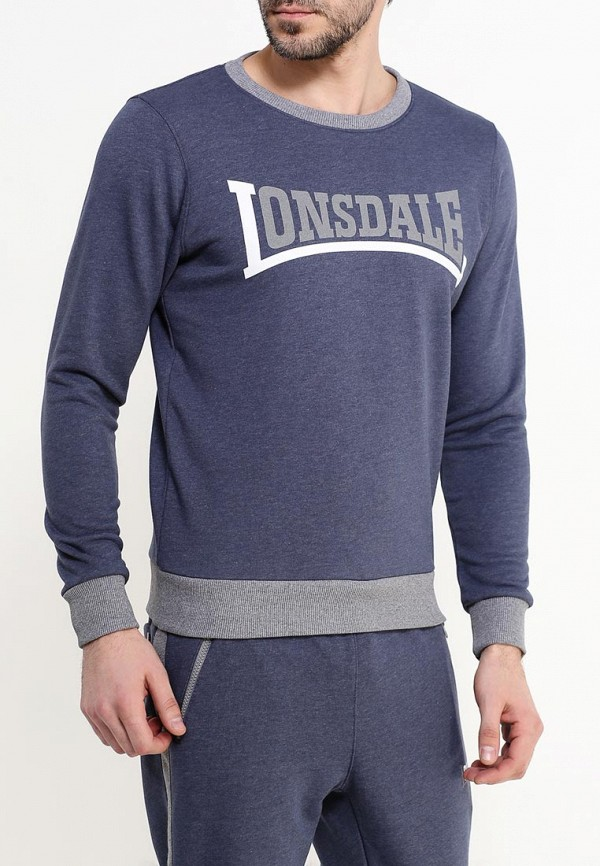Свитшот Lonsdale Lonsdale LO789EMSBT46 толстовка lonsdale lonsdale lo789emsbt59
