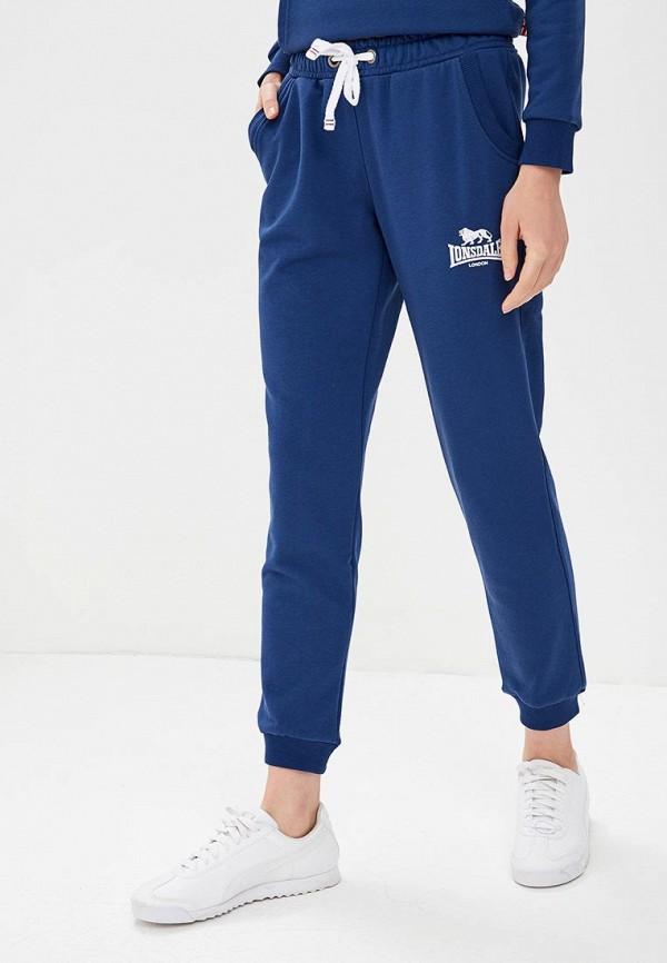 женские спортивные спортивные брюки lonsdale, синие