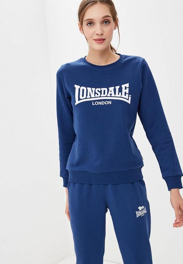 Свитшот Lonsdale Lonsdale LO789EWBVRJ1 толстовка lonsdale lonsdale lo789emsbt59