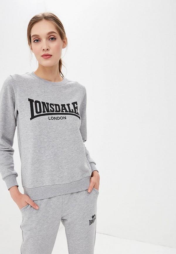Свитшот Lonsdale Lonsdale LO789EWBVRJ2 свитшот lonsdale lonsdale lo789emsbt40