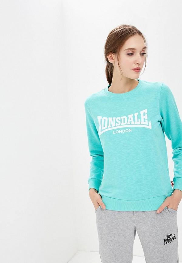 где купить Свитшот Lonsdale Lonsdale LO789EWBVRJ3 дешево