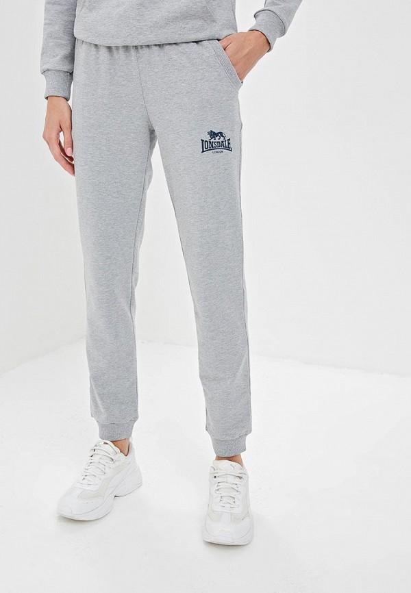 женские спортивные спортивные брюки lonsdale, серые