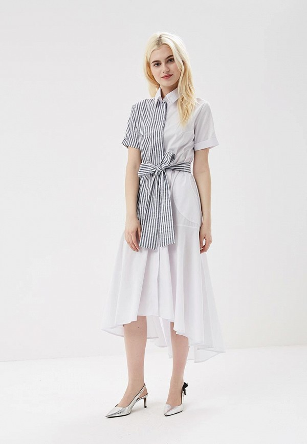 Купить Платье Love & Light, lo790ewasie6, белый, Весна-лето 2018