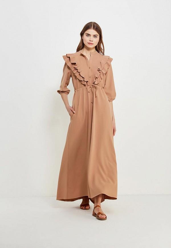 Купить Платье Love & Light, LO790EWASIF9, бежевый, Весна-лето 2018