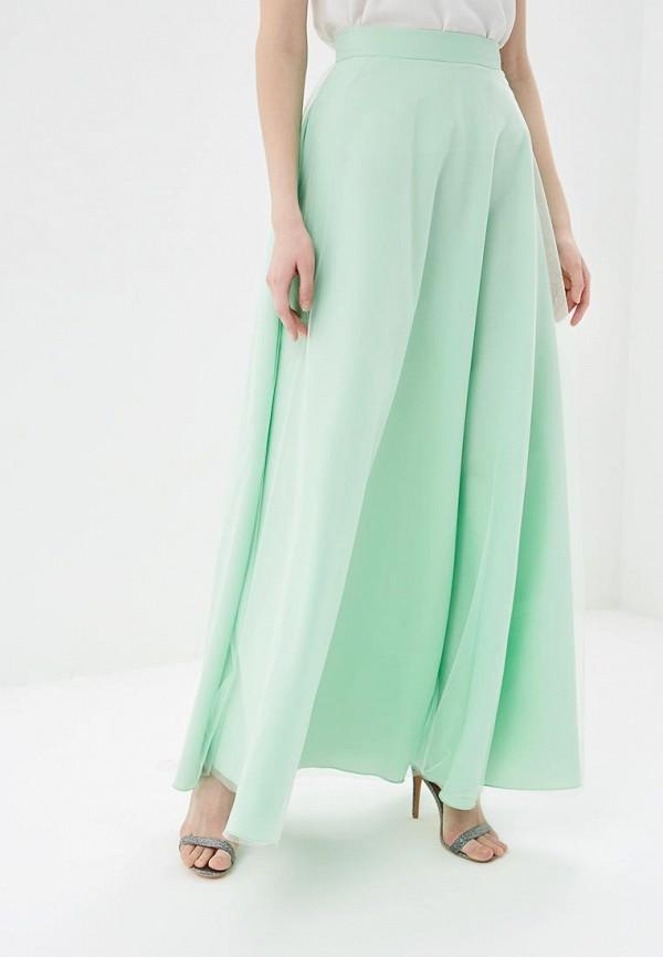 женская юбка love & light, зеленая