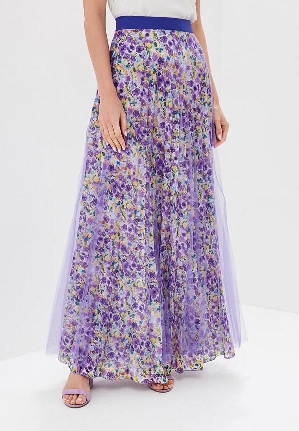 женская юбка love & light, фиолетовая