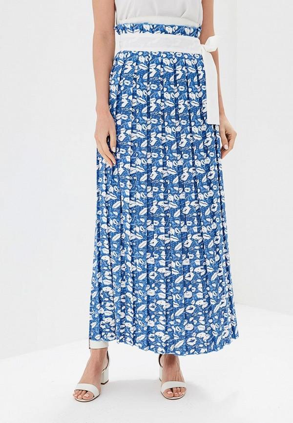 женская юбка love & light, синяя