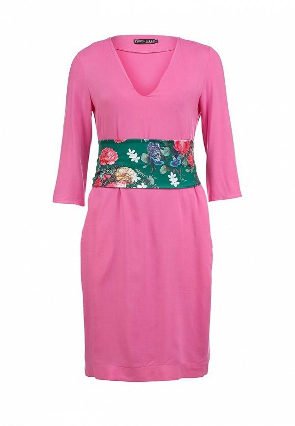 женское платье love & light, розовое