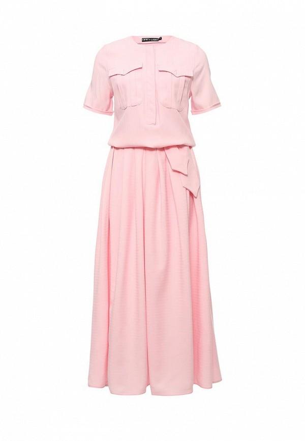 Платье Love & Light, LO790EWJAU57, розовый, Весна-лето 2016  - купить со скидкой