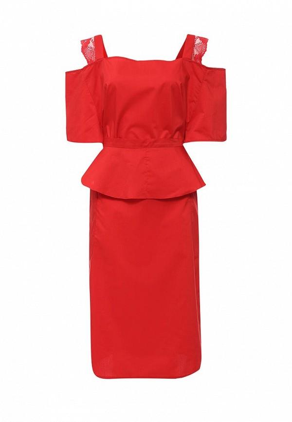 Купить Платье Love & Light, LO790EWJSD39, красный, Осень-зима 2016/2017