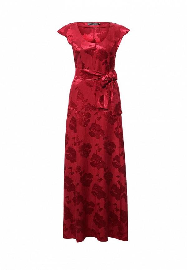 Купить Платье Love & Light, lo790ewkme00, бордовый, Осень-зима 2016/2017