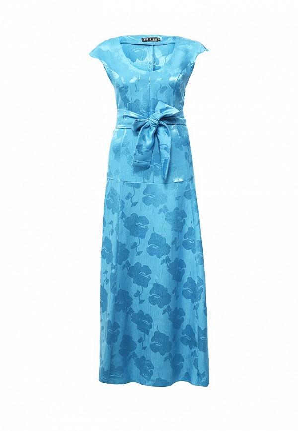 женское вечерние платье love & light, голубое