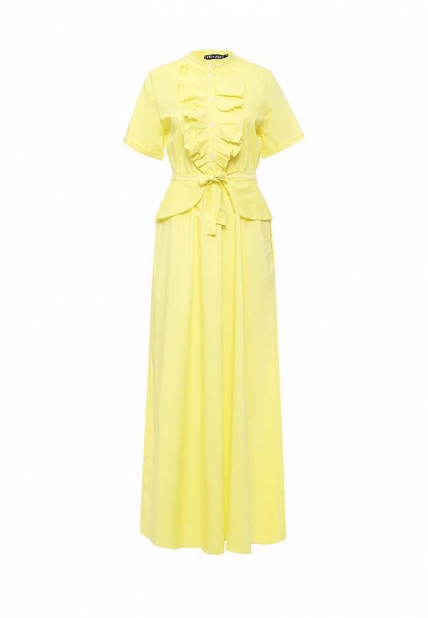 Купить Платье Love & Light, lo790ewkme18, желтый, Осень-зима 2016/2017