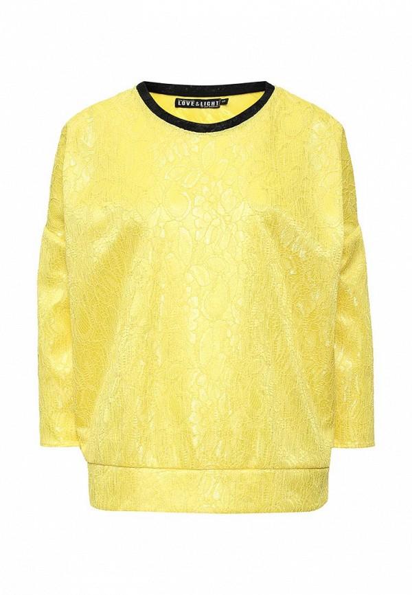 Купить Блуза Love & Light, lo790ewlen36, желтый, Осень-зима 2016/2017