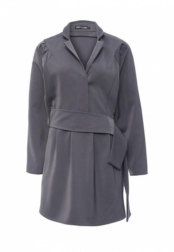 Купить Платье Love & Light, LO790EWLEN61, серый, Осень-зима 2016/2017