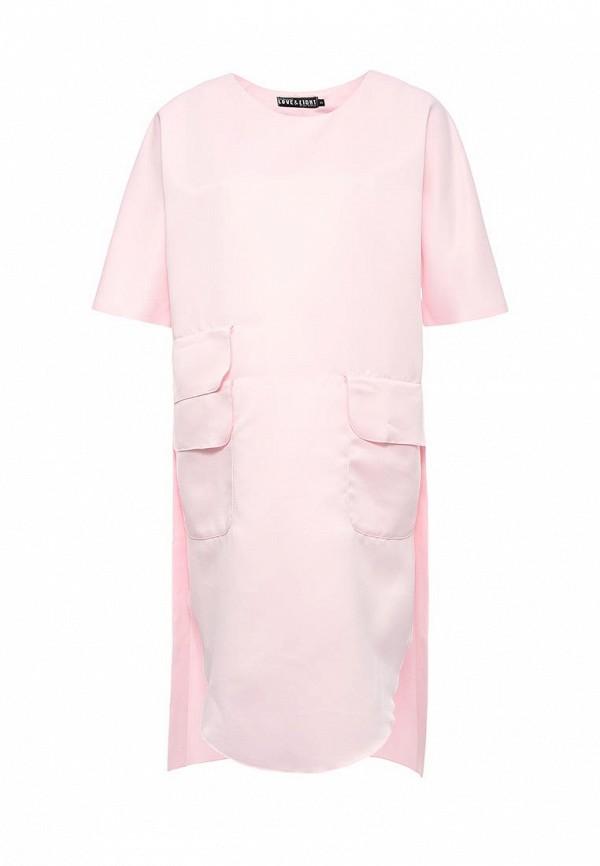 Купить Платье Love & Light, LO790EWPQC42, розовый, Весна-лето 2017