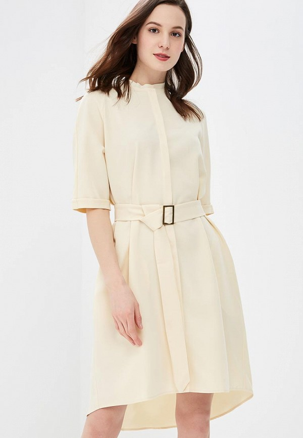 Купить Платье Love & Light, LO790EWPQC64, бежевый, Весна-лето 2018