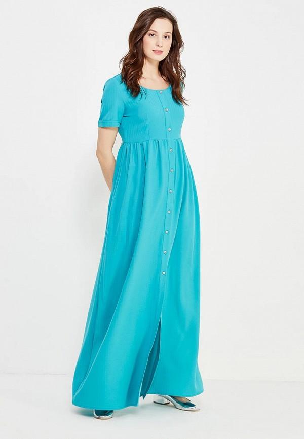 женское платье love & light, бирюзовое