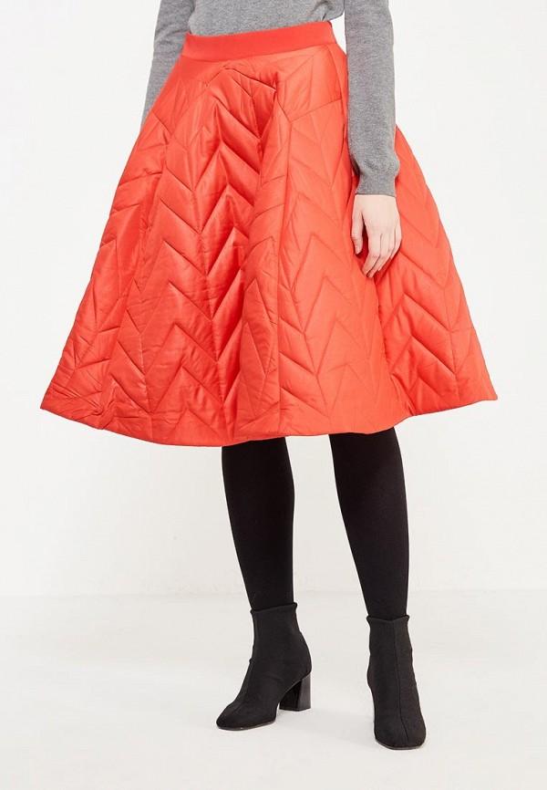 женская юбка love & light, красная