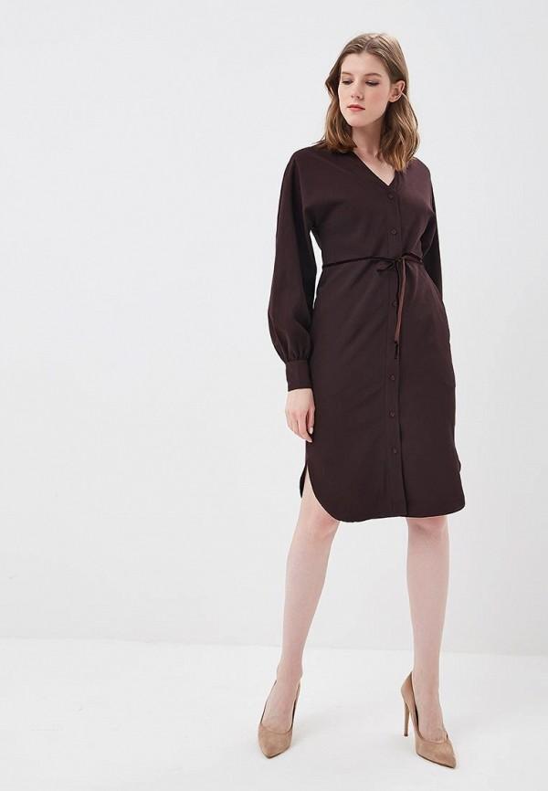 Платье Love & Light, lo790ewzvh73, коричневый, Весна-лето 2018  - купить со скидкой